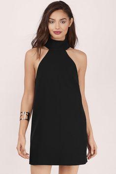 Remi High Neck Shift Dress at Tobi.com #shoptobi
