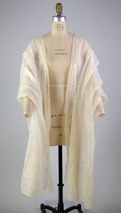 Stole 1810 cotton, Indian. Met museum