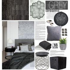 Grey by bellamarie on Polyvore featuring interior, interiors, interior design, home, home decor, interior decorating, Cyan Design,…