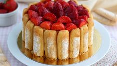 Anna Pavlova, Dessert Charlotte, Beaux Desserts, Strawberry Tart, Falafel Recipe, French Pastries, 20 Min, Cheesecakes, No Cook Meals