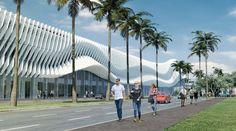 miami beach convention center fentress arquitectonica designboom