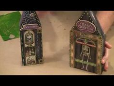 Halloween Wonky Wood Houses by Joggles.com - YouTube