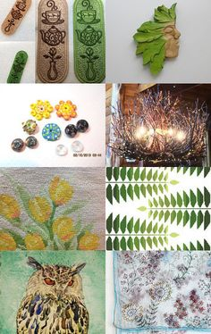 *** Wood Spirit's Dream *** by Maija Masena on Etsy--Pinned with TreasuryPin.com