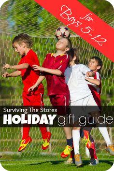 Gifts For Boys 5-12  Holiday Gift Guide via @survivingstores