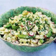 Salad Dressing, Baby Food Recipes, Cobb Salad, Potato Salad, Foodies, Grilling, Food And Drink, Health Fitness, Potatoes