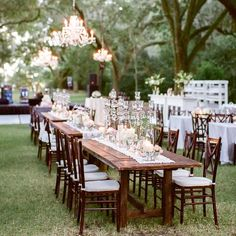 Natural wedding reception #tablescape - crystals everywhere