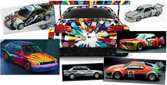 PANTONE NEWSLETTER: Color News and Views   A collection of car painted designs created by Alexander Calder, Ken Done, Frank Stella, David Hockney and Jeff Koons.