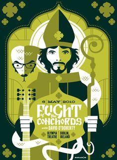 tom whalen : strongstuff illustration + design - Part 13 Rock Posters, Band Posters, Concert Posters, Movie Posters, Gig Poster, Tom Whalen, Flight Of The Conchords, Affinity Designer, Poster Series
