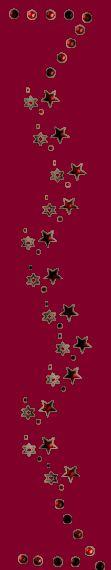 Gifs , Mensagens e Imagens :: Barras Vertical de Estrelas
