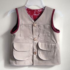 Explorer vest from Little Things to Sew