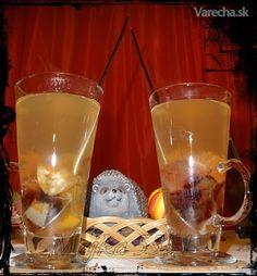 Pečený čaj (fotorecept) Pint Glass, Beer, Drinks, Tableware, Root Beer, Drinking, Ale, Beverages, Dinnerware