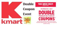 Kmart Double Coupon Event August 28- Sept 3- 14 Freebies and tons more! :  Check it out here!!