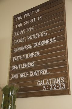DIY Pallet Art with scripture