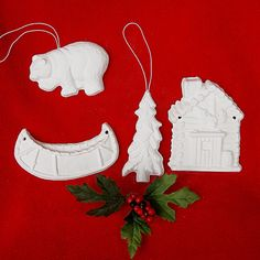 Unpainted Christmas Ornament Craft Camping by barbaraportraits, $10.65