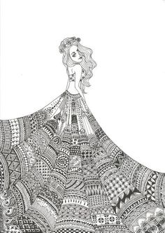 Hand Drawn Zentangle Doodle Drawings - Black and white pineapple doodle zentangle art - Easy Doodle Art, Doodle Art Designs, Doodle Art Drawing, Zentangle Drawings, Designs To Draw, Cool Doodles, Drawing Drawing, Doodles Zentangles, Drawing Ideas
