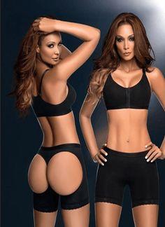 2267c919a50d3 Ann Chery Short Powernet Butt Lifter Colors  Black Sizes  S-32