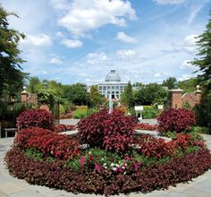 The Central Garden at Lewis Ginter.