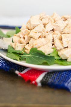 Mexican Chicken Salad with Yogurt