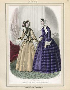 Magasin des Demoiselles April 1853 LAPL