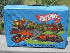 1980 Mattel Hot Wheels Case Includes 23 1970's by LeftoverStuff, $35.00