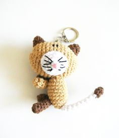 Cat Keychain, Christmas Ornaments, Holiday Decor, Accessories, Home Decor, Decoration Home, Room Decor, Christmas Jewelry, Christmas Decorations