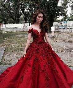 Gorgeous Ball Gown,Off the Shoulder Satin Prom Dress,Custom Made Evening Dress,17216