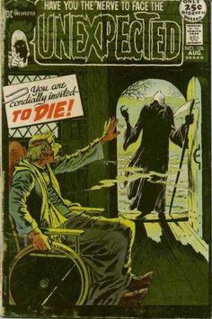 #漫画 ジャンル horror comics genre #漫画 #ジャンル Comics black and white Horror Comics, Creepy Comics, Sci Fi Comics, Comics Story, Horror Art, Vintage Comic Books, Vintage Comics, Tales Of The Unexpected, Horror Themes
