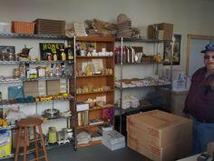 Beekeeping equipment http://www.hillsidebees.com