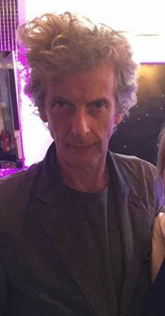 "PC on 12th Doctor: ""I love him. He's my favorite Doctor. He's certainly the most handsome. And he's got the biggest hair. His hair had the biggest arc: Started out small and got bigger and bigger. """