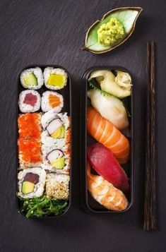 Sushi. Private Jet Charter provide luxury on board catering. With 5* cuisine prepared by the world's best chef's. Travel the world with Private Jet Charter - www.privatejetcharter.com