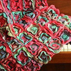 Summer melody blanket crochet by YarnTwist