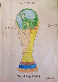 10-year-old Jamuel Bantoc getting into the #Football spirit in the #Philippines