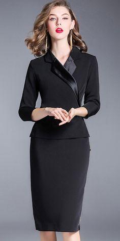 Brief V-Neck Zippered Bodycon Dress