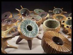 "Nathan Grubich & Amanda St.Hilaire-Grubich ""Bio-bowls"" #art #funky #festival #CCAF2012"