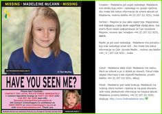 Computerised image of what missing Madeleine McCann might look like now - Croatian, Serbian, Czech, Polish