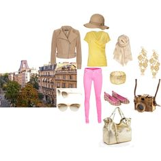 Walking the streets of Paris, created by nunertuner on Polyvore