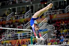 Madison Kocian on the Uneven Bars at the 2016 Rio Olympics