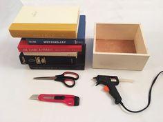 Craft a Secret Storage Book Box