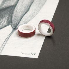 OLGA KABIE Porcelain rings #olgakabie