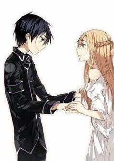 Kazuto & Yuuki Asuna - By Sword Art Online Kirito and Asuna ღ