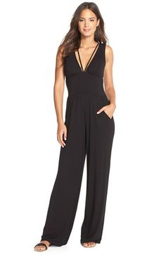 La Blanca 'Passport to Paradise' Strappy Back Cover-UpJumpsuit available at #Nordstrom