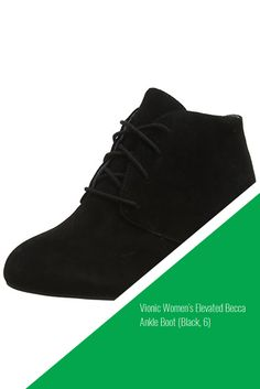Vionic Women's Elevated Becca Ankle Boot (Black, 6) #sale