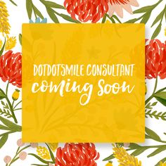 Free Graphic for Dot Dot Smile Consultants to use while onboarding.