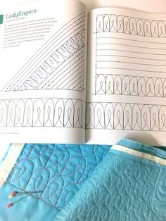 Simple and useful tips and tricks from Dara Tomasson for free-motion quilting on your home sewing machine, plus design inspiration and patterns. Quilting Stencils, Quilting Templates, Longarm Quilting, Free Motion Quilting, Quilting Tips, Quilting Tutorials, Hand Quilting, Quilting Thread, Quilting Rulers