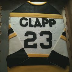 Hockey cake!  #Hockey #cake #ahockeymomreviews