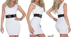 ❤❤ WINTER  NEWS ❤❤ ❤ I dag har vi fået flere nye varer i shoppen F.esk.denne søde lille minikjole med bælte ❤ Pris kun 289,-  Se den her: http://bellanordic.dk/product/kjoler-460/