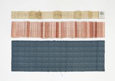 Made to Measure by Glithero. Commission by Zuiderzeemuseum and TextielMuseum. On show at Ventura Lambrate. Woven at @TextielMuseum | TextielLab