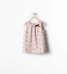 Image 1 of FLORAL PINAFORE from Zara