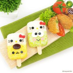 Japanese Food Art, Japanese Lunch Box, Japanese Dishes, Bento Box Lunch For Kids, Cute Bento Boxes, Bento Recipes, Baby Food Recipes, Top Recipes, Cute Food