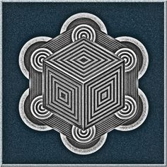 the black cube of the void Saturn has a hexagon as it's North Pole. In Mecca, the black cube 'KAABA' is circled clockwise 7 times. 6 is time 7 is 'god'
